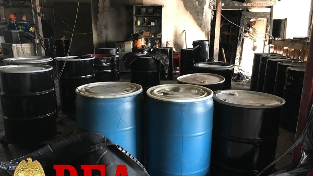 55 Gallon Drums of Hexane.jpg