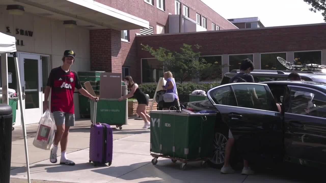 MSU Student Move-in