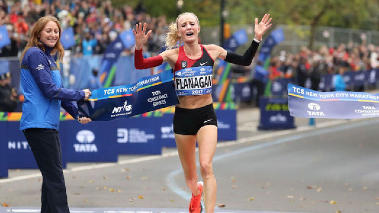 American woman wins NYC Marathon for 1st time in 40 years
