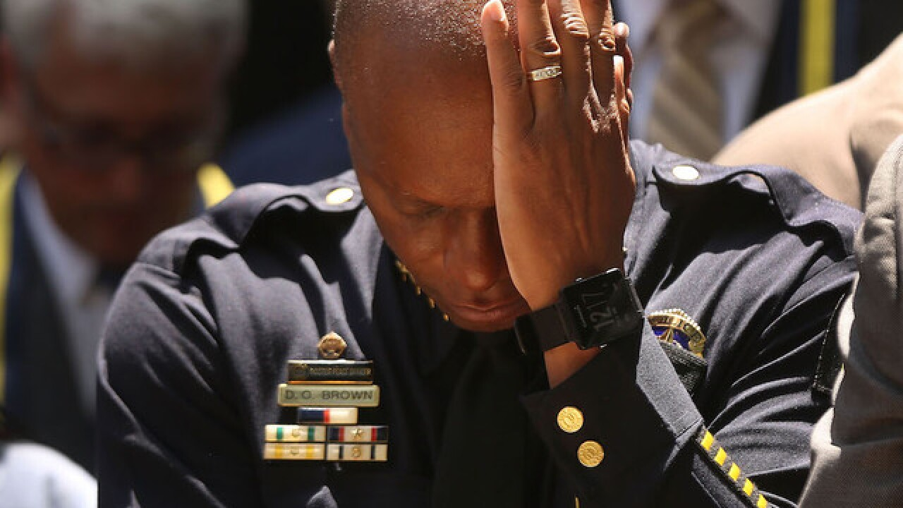 A tragic reminder that policing takes a toll on officers, too