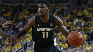 Michigan State finally gets season going against Eastern Michigan