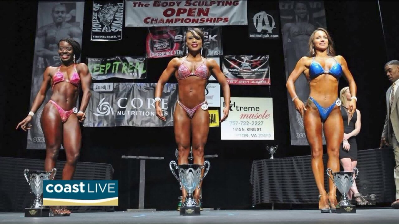 Meet local body building athletes set to compete on Coast Live