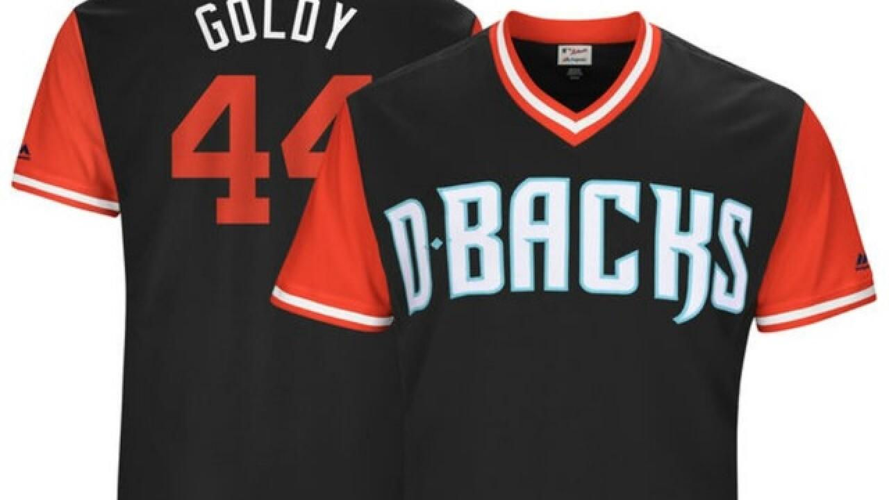 91d251687 Ranking the Arizona Diamondbacks  5 best uniform nicknames for Players  Weekend