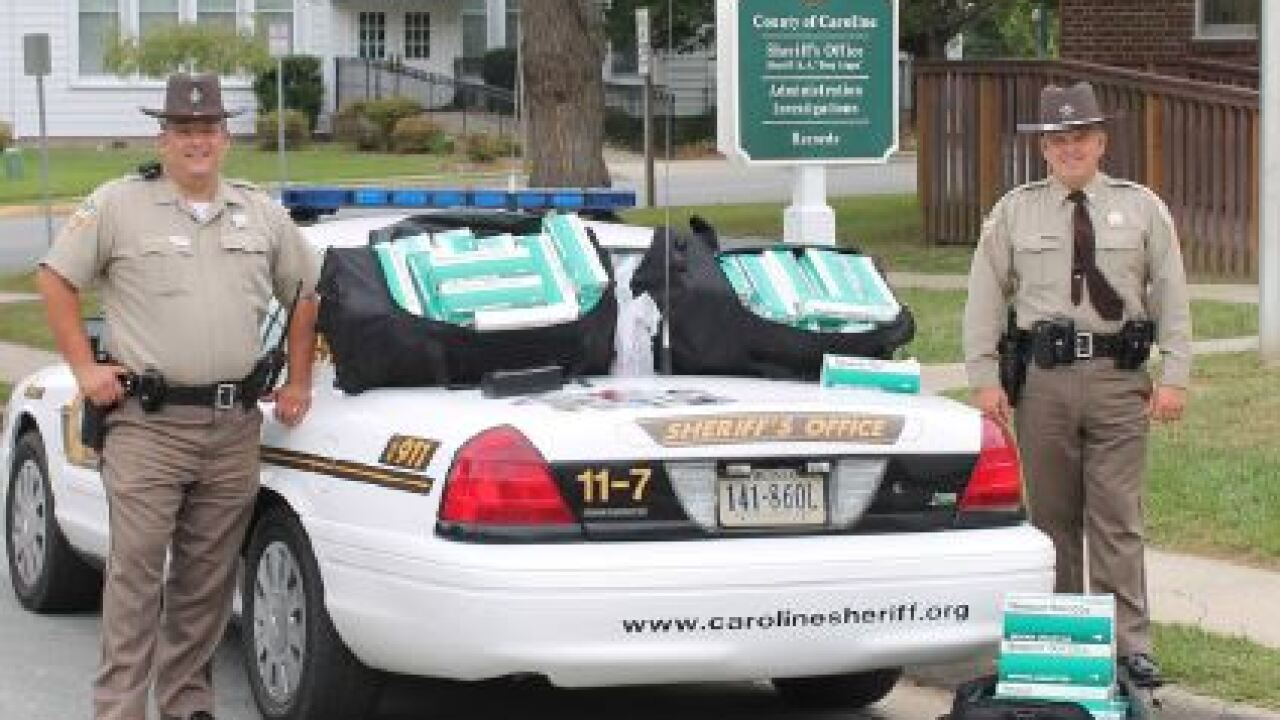 Caroline County Sheriffs make credit card, cigarette smuggling bust