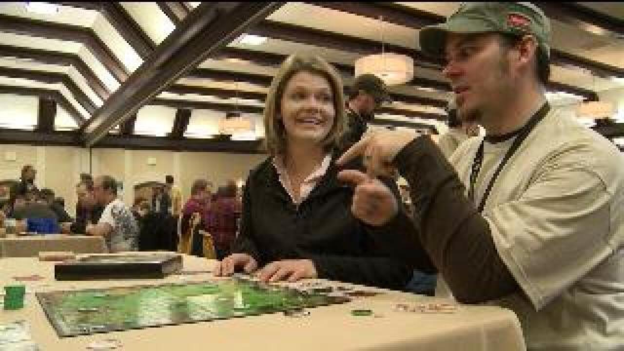 Game designers, players gather for convention