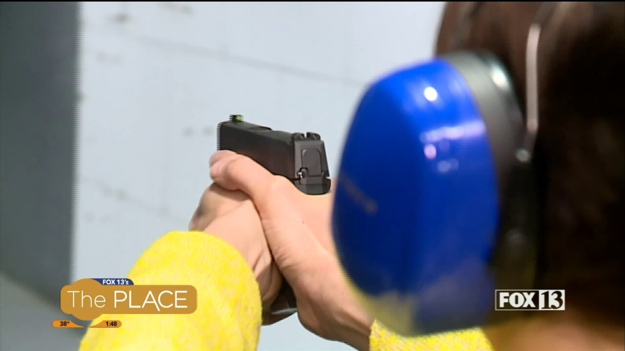 New class helps women get their Concealed Carry permit while getting comfortable around firearms