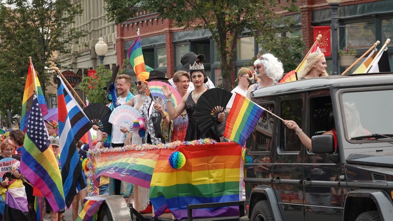 Big Sky Pride Parade Float
