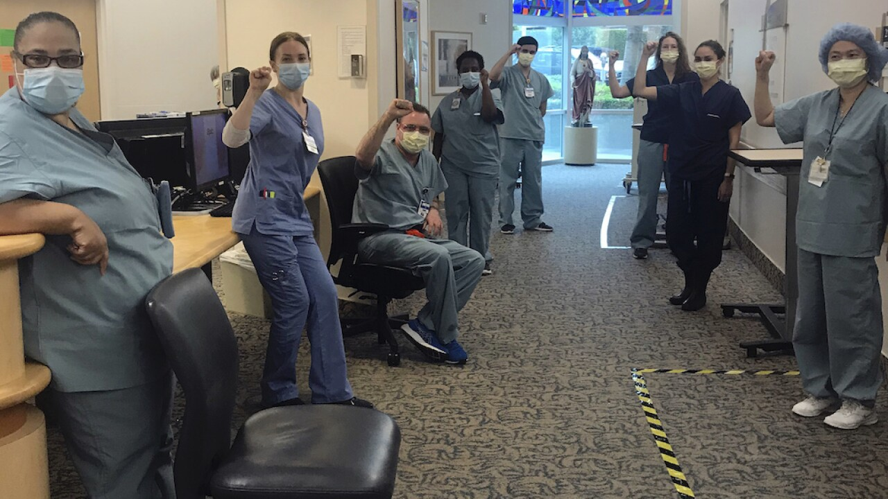 10 California nurses suspended after refusing to treat COVID-19 patients without N95 masks