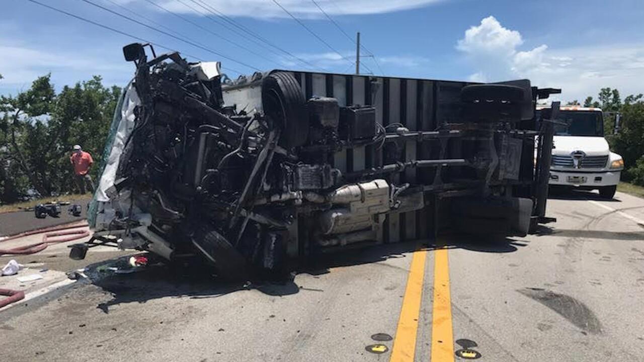 Florida Keys crash that injured Boynton Beach firefighter Jeff Power