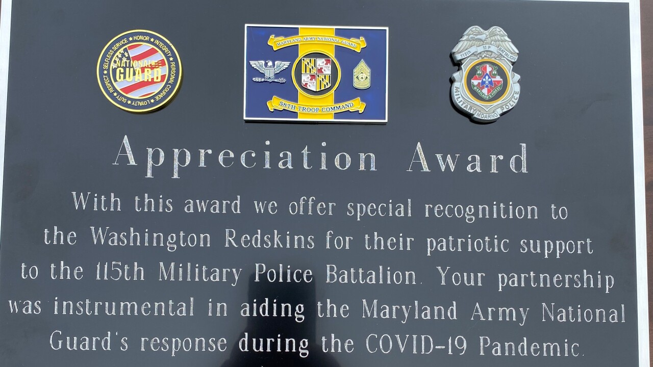 Redskins help during COVID-19
