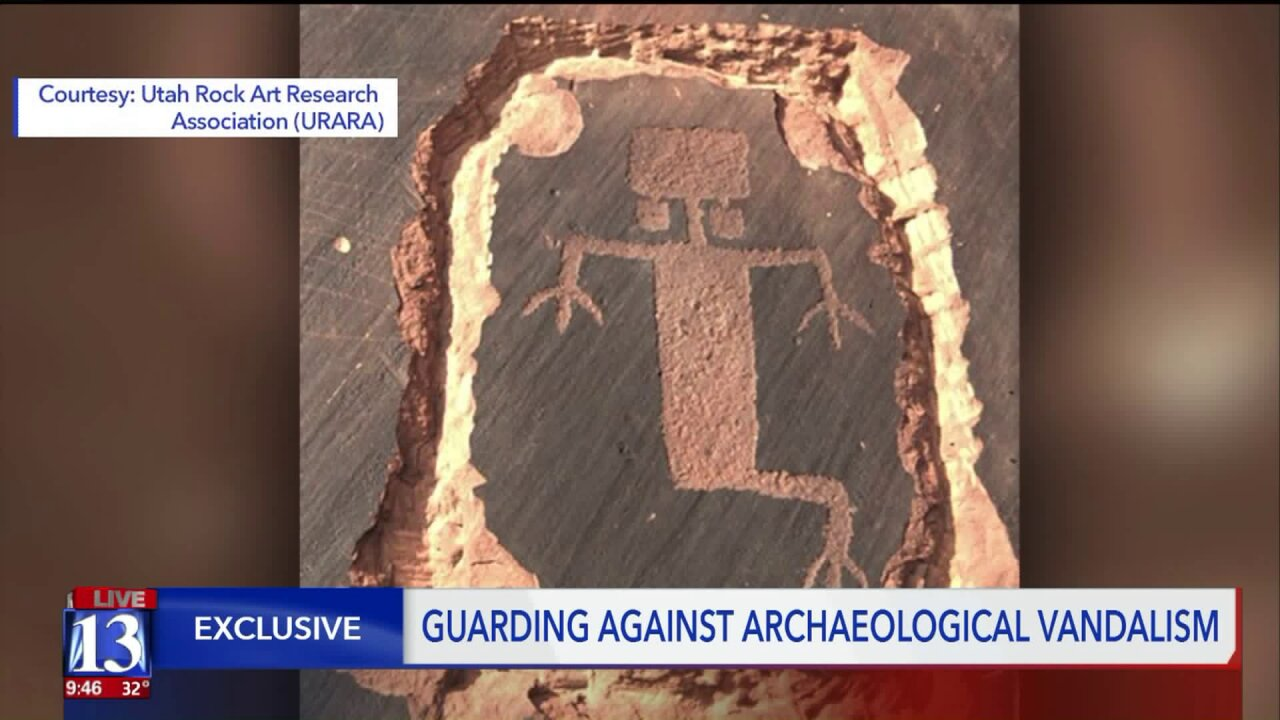 A new push to protect Utah's archaeological treasures fromvandalism