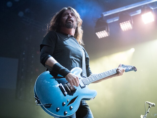 Foo Fighters perform at U.S. Bank Arena
