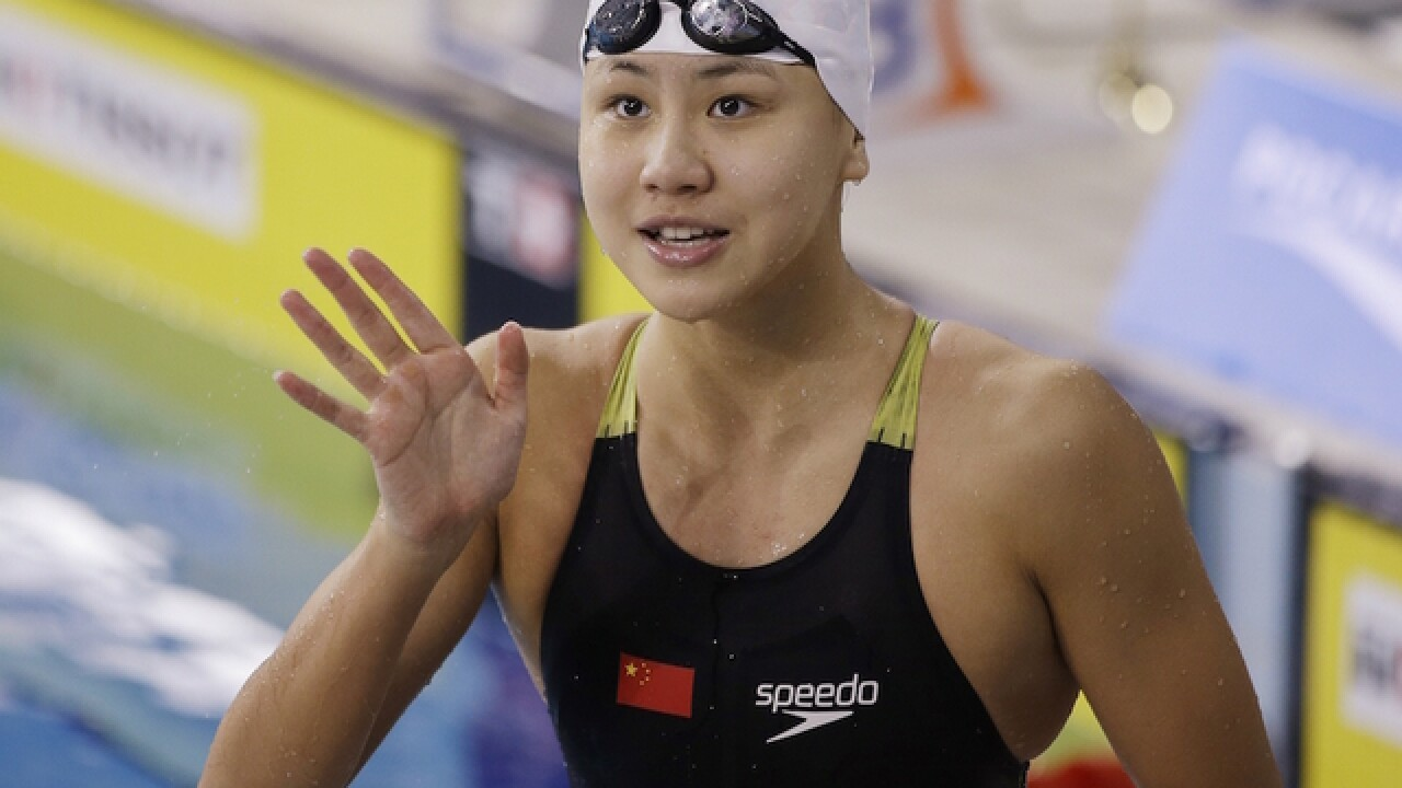 Chinese swimmer fails drug test at Rio Olympics