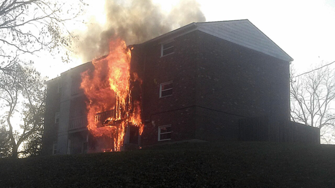 FD: Six displaced in Miami Twp. apartment fire