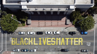 BLM murals being defaced across US, communities trying to deal with fallout