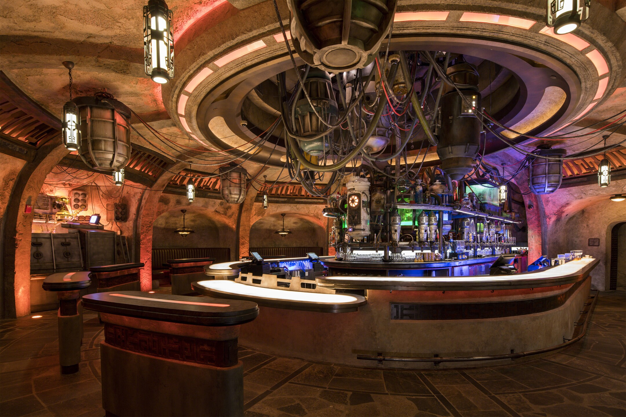 Oga's Cantina in Star Wars: Galaxy's Edge