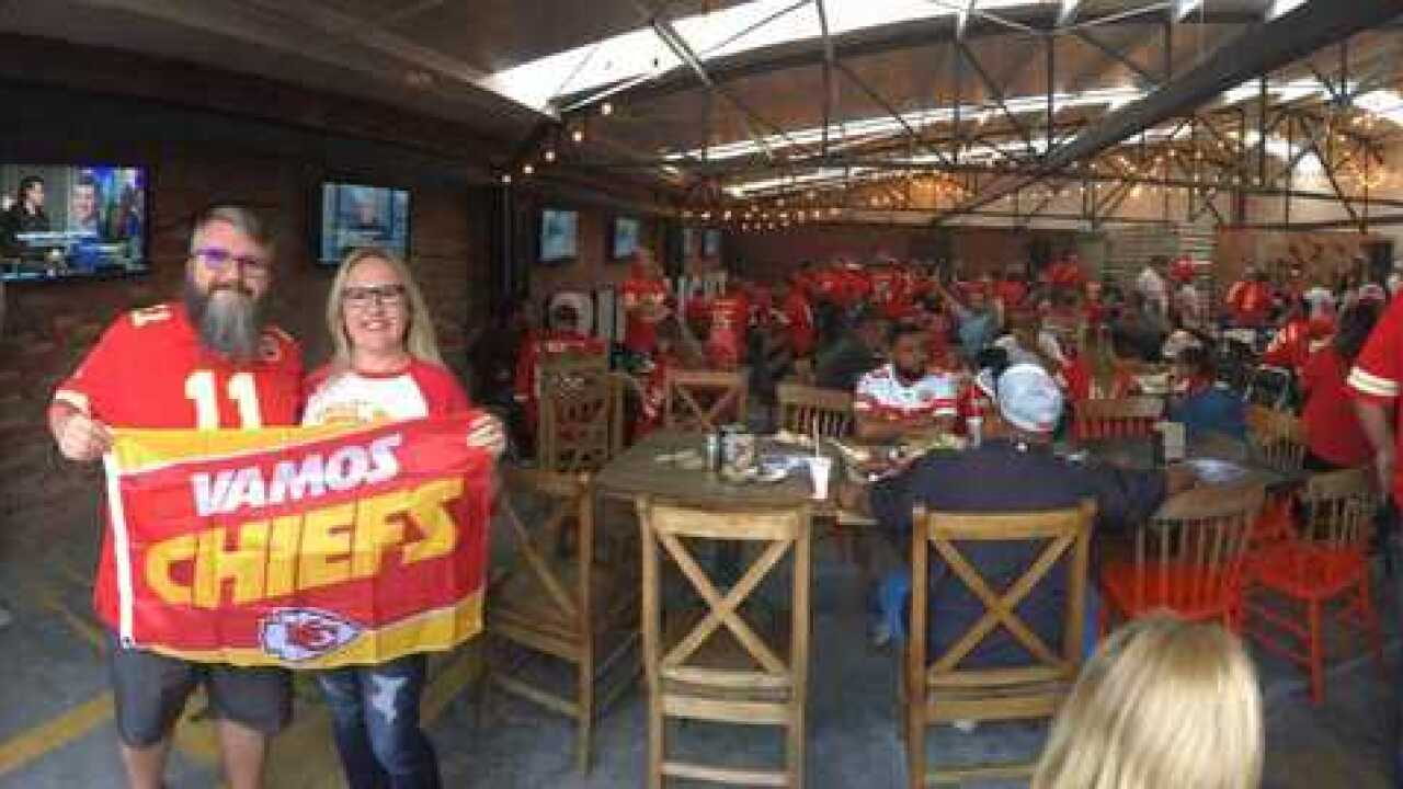 Vamos Chiefs! Fans meet up in Mexico City