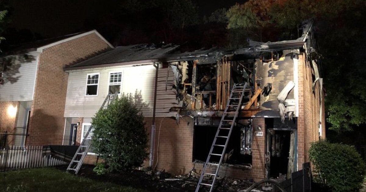 15 people displaced after house fire in Severn