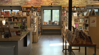 Book lovers are flocking to Visible Voice Books, in Tremont, for private browsing sessions, and wine