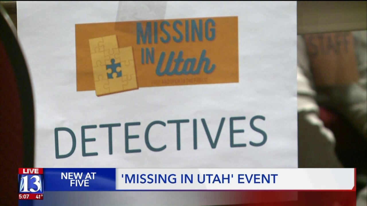 Six days after husband's disappearance, Utah woman hopes to find answers at 'Missing in Utah' event