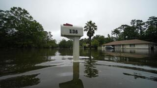 Slidell, Louisiana, flooding caused by Tropical Storm Claudette