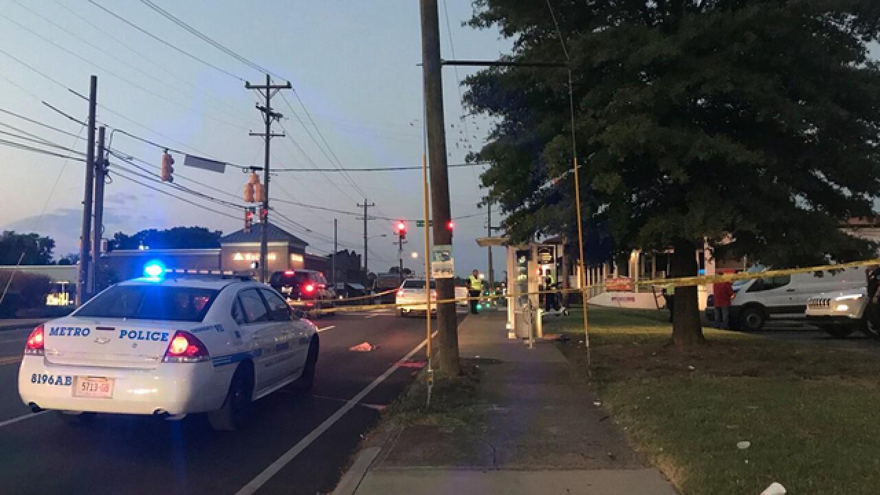 Pedestrian Injured After Being Hit Near Bus Stop