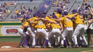 #13 LSU to play Stony Brook in Baton Rouge Regional