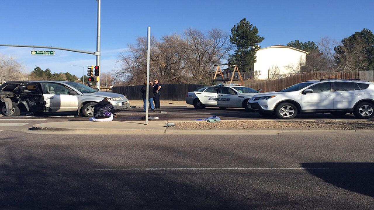 12 hurt, 2 seriously, in 3-car crash in Aurora
