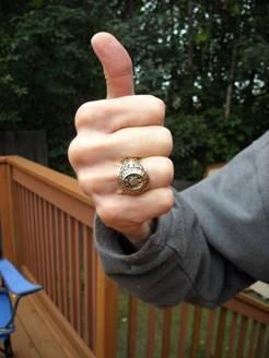 Johnny Johnson Aggie Ring