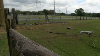 Vermilion Parish homeowner asking for more patrols after speeders constantly crash into fence