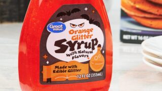 Make Breakfast Sparkle With New Orange Glitter Syrup