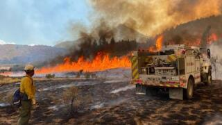 'Extreme, wind-driven fire behavior' possible Wednesday at Pine Gulch Fire on Western Slope