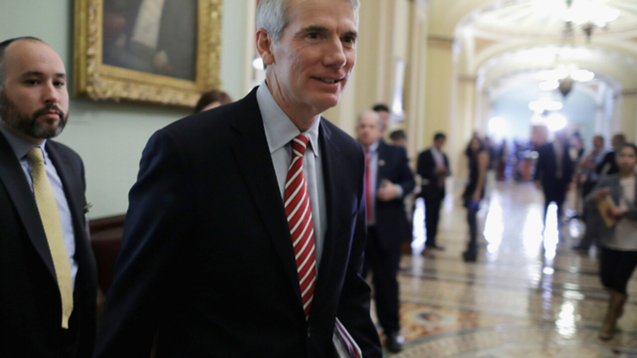Incumbent Rob Portman bests Dem. Ted Strickland for Ohio U.S. Senate seat