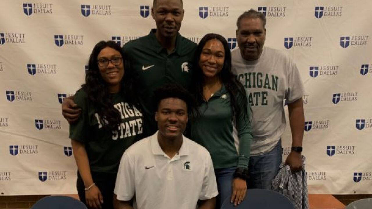 Michigan State adds forward Julius Marble to three-player class