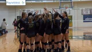 Rocky Mountain College volleyball women earn national academic award