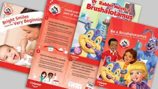 Teachers, you can get a free classroom kit from Colgate to teach your students about dental health