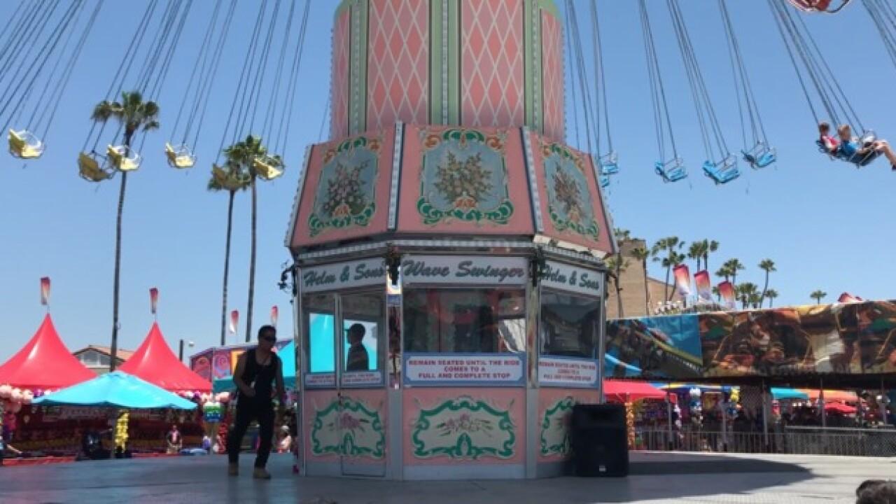 Experience Michael Jackson's ride at the SD Fair