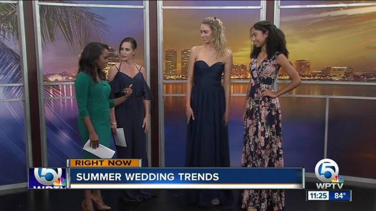 Summer Wedding Trends with Kleinfeld Bridal Party