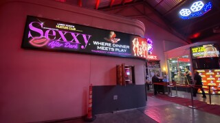 Sexxy is a topless review which has temporarily relocated to Larry Flynt's Hustle Club in Las Vegas due to COVID-19 restrictions.