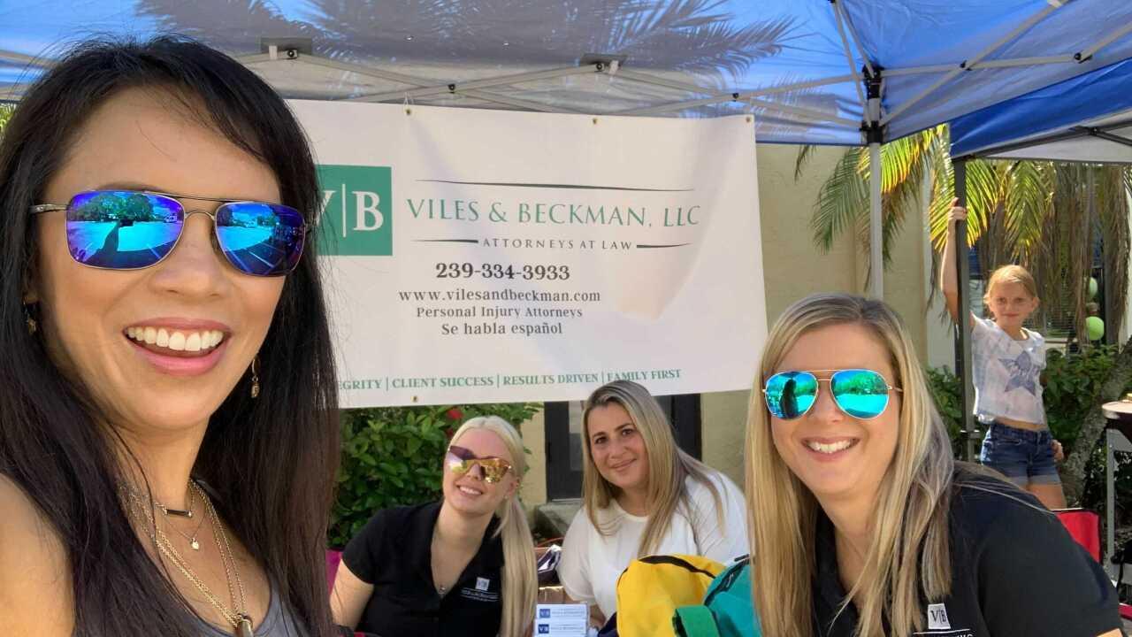 Vile & Beckman, LLC Back to School event-2