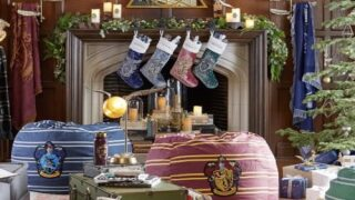 There's A New Harry Potter Holiday Home Decor Collection At Pottery Barn And It's Magical