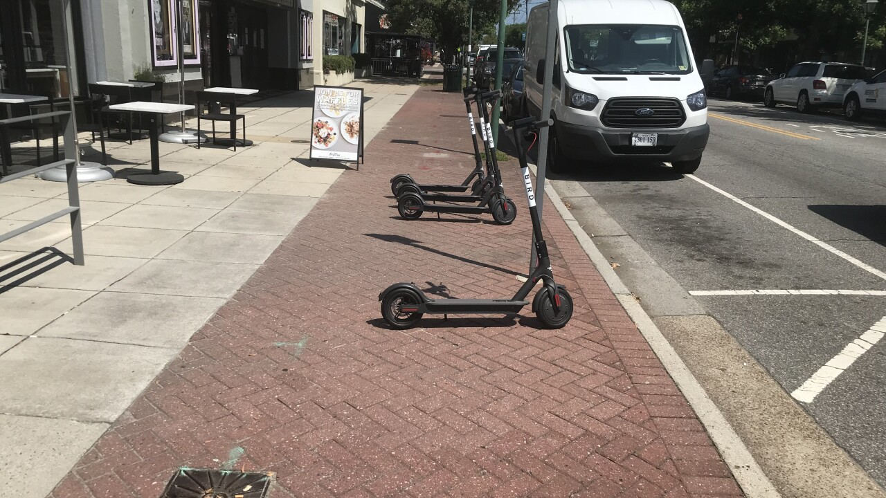 Electric scooters debut in Norfolk without city permission