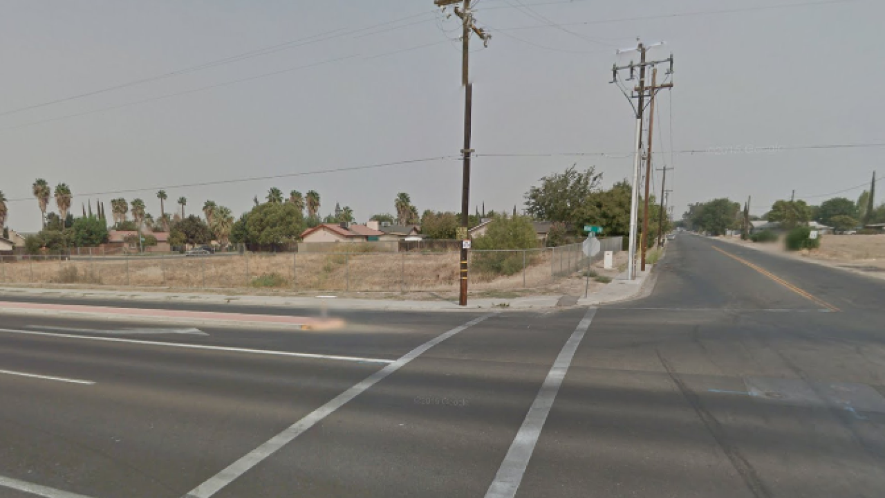 Newborn abandoned in middle of California road