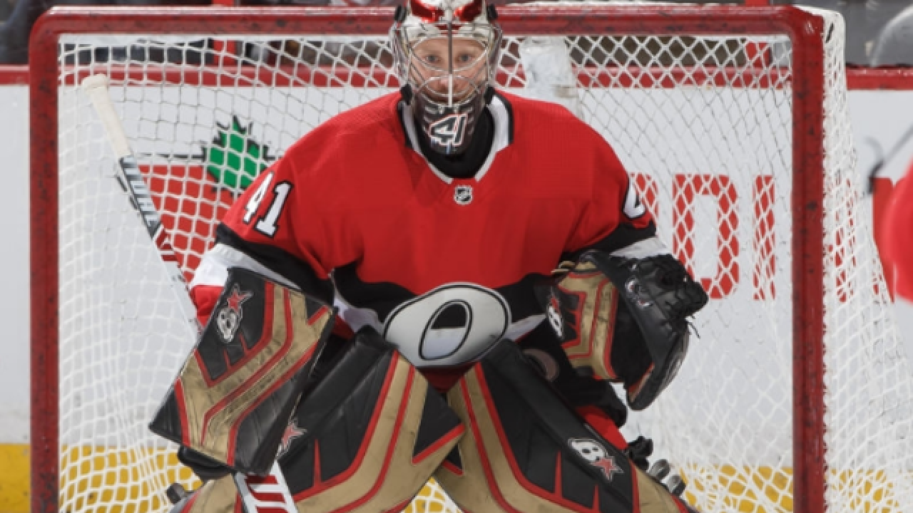 Craig Anderson stops 2 penalty shots, Senators beat Red Wings