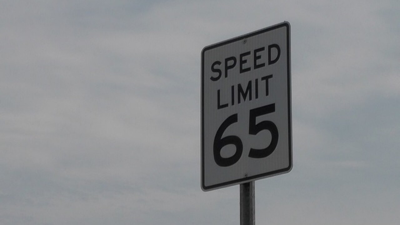 Speed limit increase for portion of 215 beltway