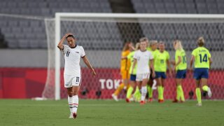 U.S. women bossed by Sweden in stunning Olympic defeat