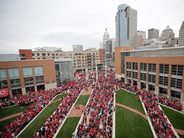 Opening Day 2017 at Great American Ball Park