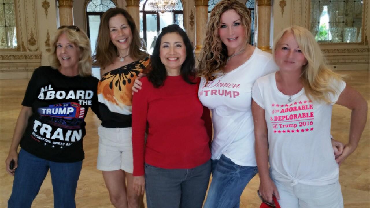 President Trump invites supporters into his home