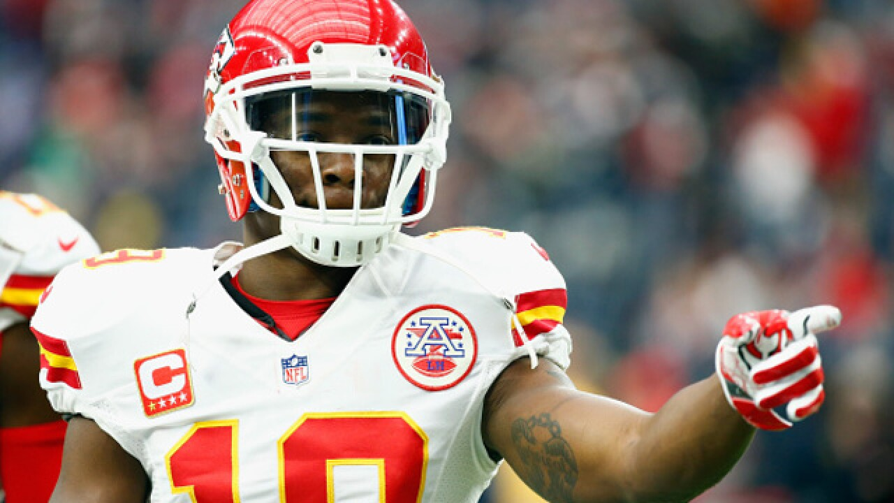 Kansas City Chiefs release WR Jeremy Maclin