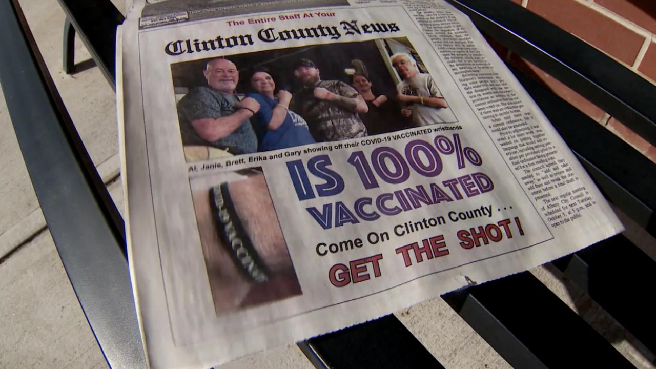 rural newspaper covid